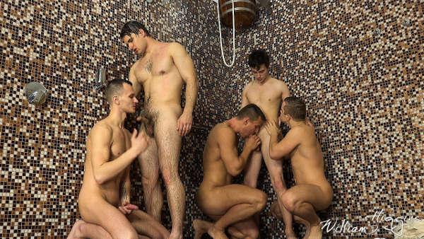 Pipe Gay Au Sauna