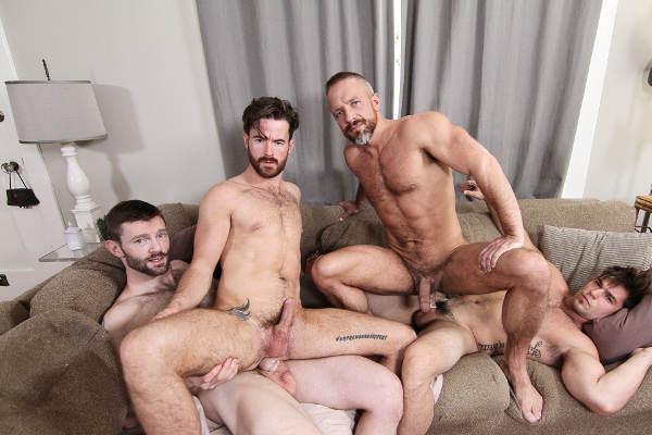 Partouze Entre Minets Au Sauna Gay