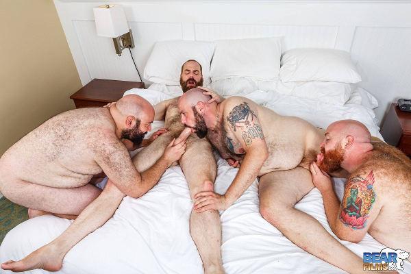 bear poilu minet gay hard