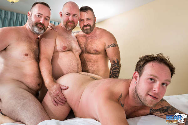gang bang homo homme gay grosse bite