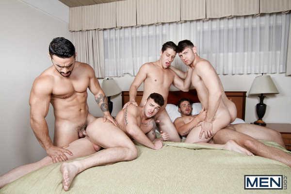 pipe gay dans la chambre
