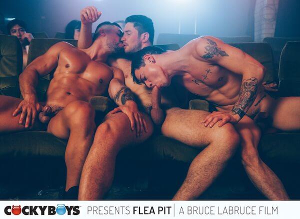 trio gay cinéma