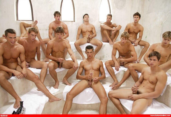 touze gay entre 12 hommes