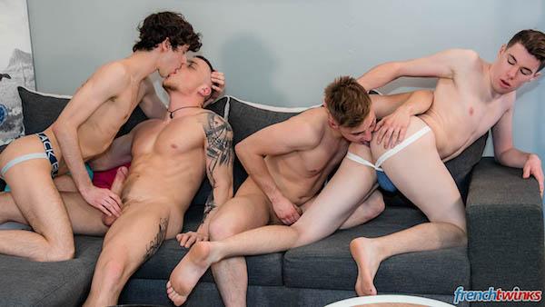 touze gay minets français