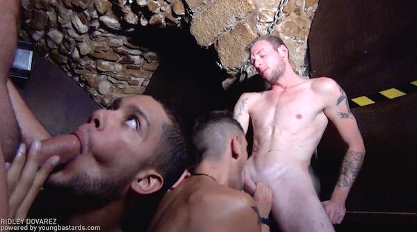 touze gay en cave