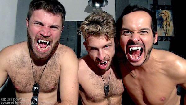 trio vampires gays